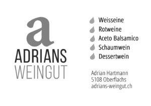 Inserat Adrians Weingut