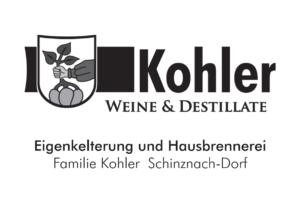 Inserat Kohler Weine & Destilatte