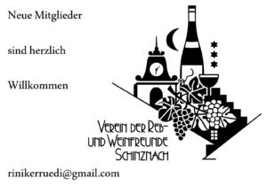 Inserat Reb und Weinfreunde